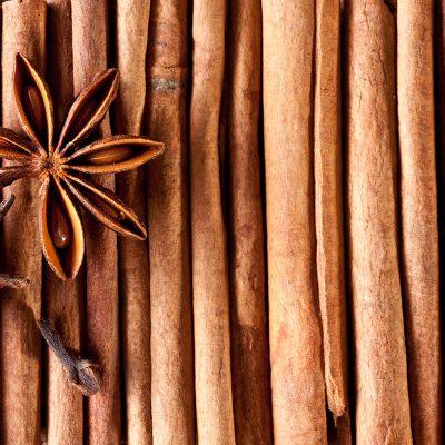 Texture image cinnamon sticks.
